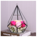 Hot Selling Diamond Shape Glass Plants Terrarium Géométrique
