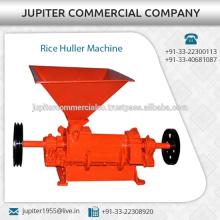 Einfache Bedienung und geringe Wartung Rice Huller Maschine mit hoch gehärteten Bildschirmen