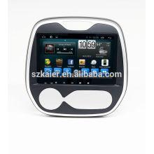 Quad core android lecteur multimédia de voiture, wifi, BT, lien miroir, DVR, SWC pour Renault Captur 2015