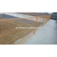 Haotian sécurité soudé double boucle usine de clôture