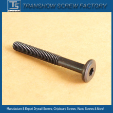 Black Oxide Flat Head Allen Drive Furniture Screws