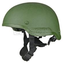Capacete tático para militares cumpre a norma ISO