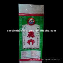 Poignée PLASTIQUE sac d'emballage alimentaire