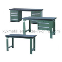 Multifunctional Customized Work Bench Tools Table with Steel Cabinet