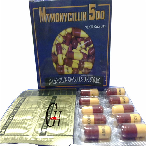 Amoxicillin Capsules 500mg Antibiotics