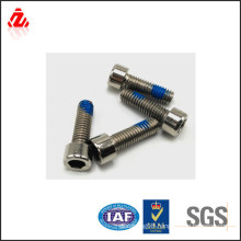 Stainless steel anti-loose nylok screw