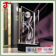 Trophée en cristal de nouvelle étoile à bas prix (JD-CT-404)