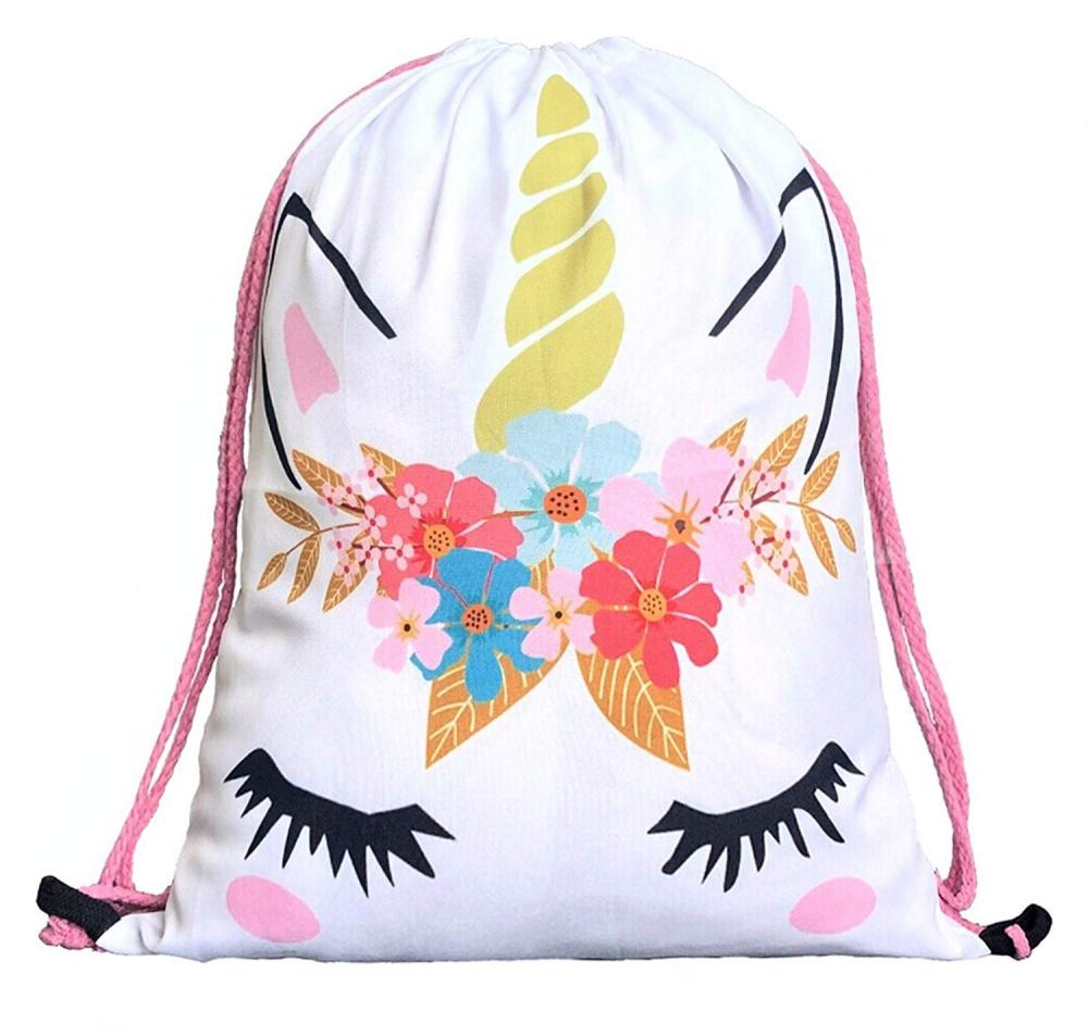 Unicorn Drawstring Bag 1