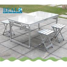 Дешевые открытый складной стул стол стол для пикника наборы оптом для время кемпинга