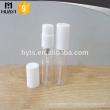 Emballage de tube d'essai de parfum de verre de mini de 2ml