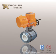 Electric Actuation Ceramic Lining Ball Valve