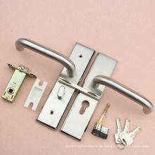 Cerradura de puerta de inodoro de alta seguridad en perilla y candado con seguro de alto grado
