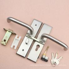 Serrure de porte de toilette de haute sécurité dans le bouton et verrou Pin avec loquet de sécurité higt