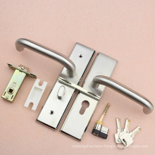 High quality pin lever lock and key for toilet door