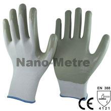 NMSAFETY нитриловые перчатки безопасности