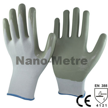 Luvas de nitrilo NMSAFETY segurança