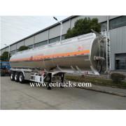 3 Axle 50000 Liters Carbon Steel Fuel Tank Semi Trailers
