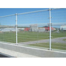 Double Loops Fences with Lw Carbon Iron Wire