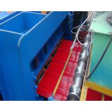 Dx 1100 Farbe Stahl Dachbahn Roll Formmaschine