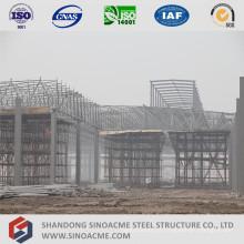 Workshop de coberturas em estrutura de aço