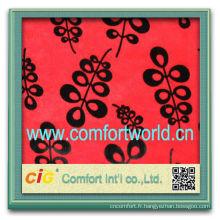 Mode nouvelle conception dernier style polyester coton Jacquard tissu imprimé