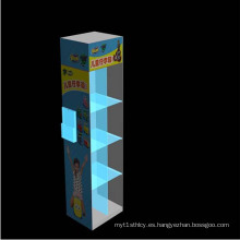 Caja de exhibición del Plexiglás del diseño del OEM para los productos de Childrens