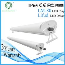 40W 1.2m IP65 LED Tri-Prueba Luz Venta al por mayor CE RoHS Anti-Corrosión Impermeable