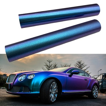 Färg Chrome Car Wrap Film