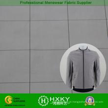 Verifique a tela de memória padrão para o tecido jaqueta Mens