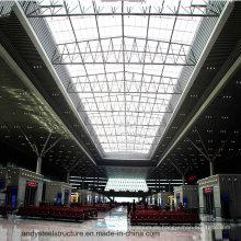 PC oder Glas Clear Skylight Roofing für Gebäude