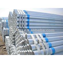 BS1387 hor dip sch 40 galvanized steel pipe price