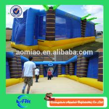 Campo inflable gigante del campo del juego del deporte inflable para la venta