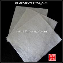 polypropylene nonwoven needle punched geotextile fabric