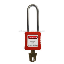 best sales approve CE certification 304 stainless steel shackle lock out & tag out