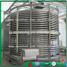 China Meat Sea Food Spirale Industrie Gefrierschrank
