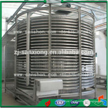 China Meat Sea Food Spiral Industrial Freezer