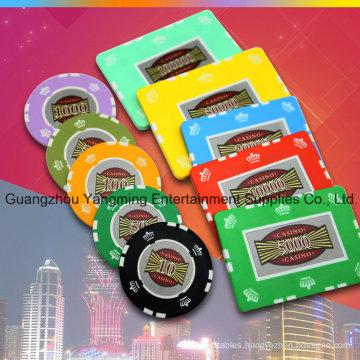 Crown Clay Poker Chips Set 760PCS (YM-TZPK005)