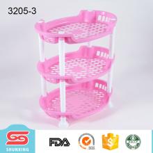 Кухня практическая прочный 3-слойный эллиптических пластичный шкаф хранения для продажи