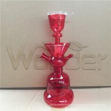 Hookahs de vidro Shisha Handblow vermelho para venda