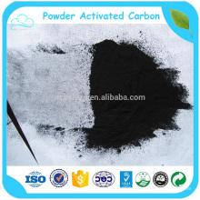Carbone activé par poudre de coquille de noix de coco pour la décoloration dans l'industrie chimique
