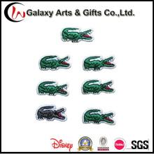 Parches bordados del logotipo del cocodrilo para la ropa