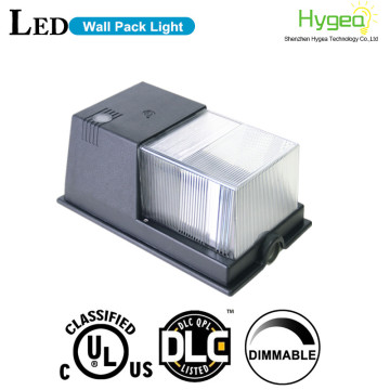 Outdoor retrofit kit led wall pack with dlc