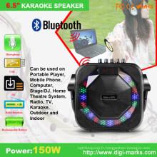 Haut-parleur actif mobile portable sans fil mini professionnel