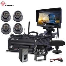 Система наблюдения за автобусом 1080P Системы автомобильных камер