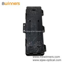 Caixa horizontal da tala da caixa terminal de cabo de fibra óptica da montagem da parede de 2 núcleos Ftth mini