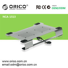 Dual fans aluminum cooling pad for 13 inch laptop,ORICO NCA1513