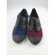 Neue Stil Frauen Kleid flache Schuhe (HCY03-136)