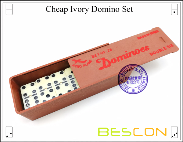 Cheap Ivory Domino Set-2