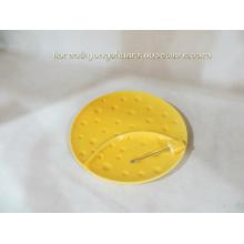 Diferentes forma de la bandeja de la torta de cerámica (YC15016)