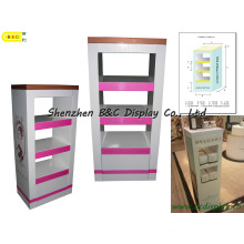 Acrylic Cosmetic Display, Cardboard Cosmetics Display Stand (B&C-A066)